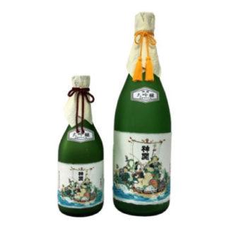 japanese-sake-Daiginjo-7-Lucky-God-fujimoto-sake-brewery