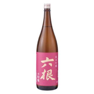 japanese-sake-from-matsumidori-sake-brewery-Junmai-Ginjo-Rokkon-Ruby